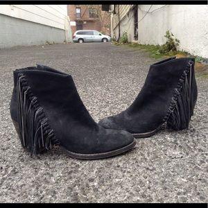 Dolce Vita Juneau Fringe Ankle Boots